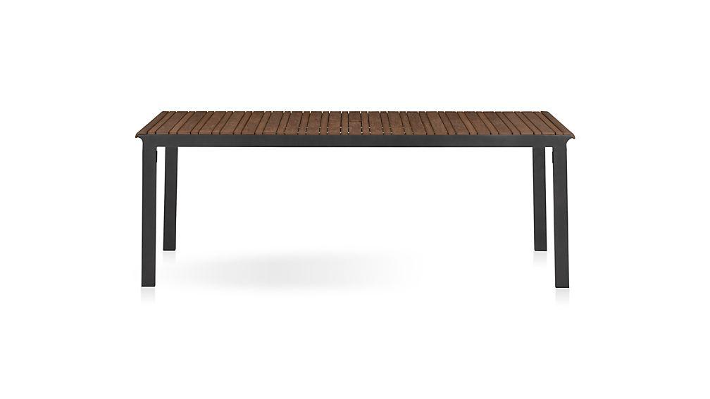 Rocha Rectangular Dining Table in Rocha Outdoor Dining  : rocha rectangular dining table from www.crateandbarrel.com size 1008 x 567 jpeg 16kB