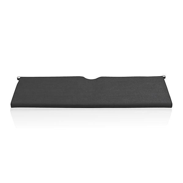 Rocha Sunbrella® Charcoal Sofa Cushion