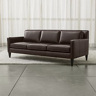 Rochelle Leather Sofa