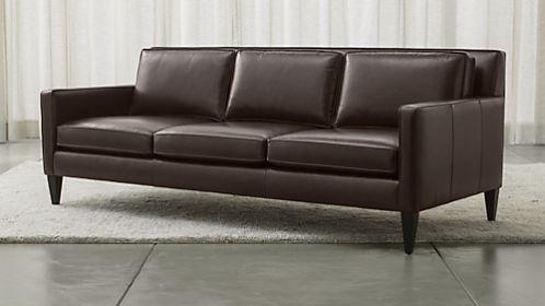 Rochelle Leather Sofa