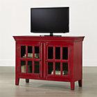 """Rojo Red 46"""" Media-Storage Cabinet."""