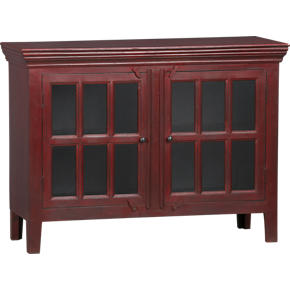 Rojo Red 46 Media Storage Cabinet