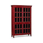 Rojo Red Tall Cabinet.