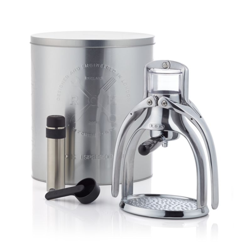 Rok Coffee Maker Nz : ROK Manual Espresso Maker Crate and Barrel