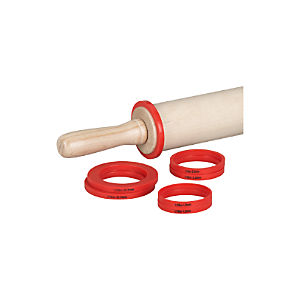 Rolling Pin Measuring Rings Set of Eight