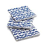 Rolling Waves Paper Beverage Napkins Set of 20