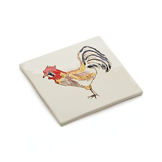 Rooster Trivet