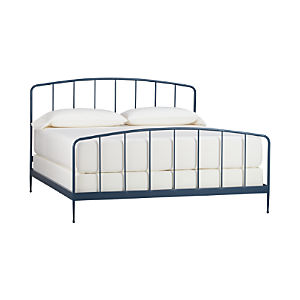 Rory Blue King Bed