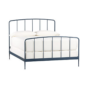 Rory Blue Queen Bed
