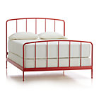 Rory Red Queen Bed.