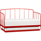 Rory Red Daybed with Trundle.