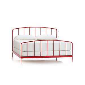 Rory Red King Bed