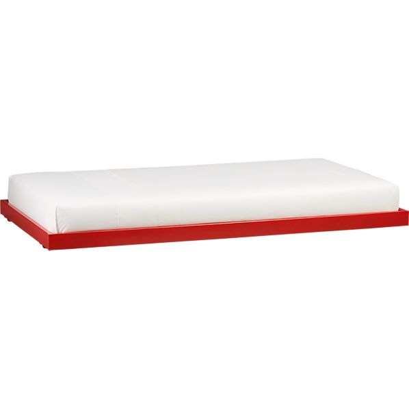 Rory Red Trundle Bed