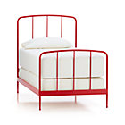 Rory Red Twin Bed.