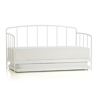 Rory White Daybed with Trundle