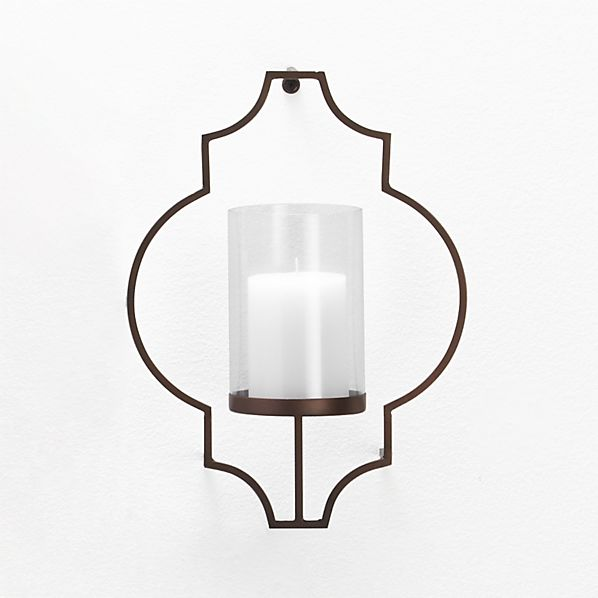 Rosaline Wall Candle Holder Crate And Barrel