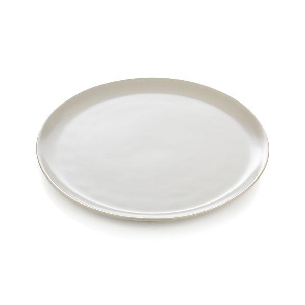 Roscoe Grey Dinner Plate