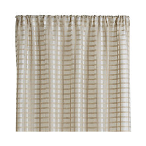 Ross Natural Sheer Curtain Panel