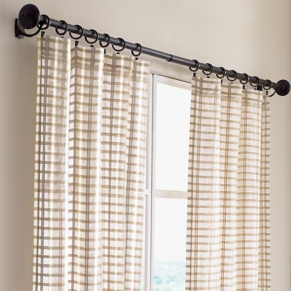 Crate and barrel curtains 2