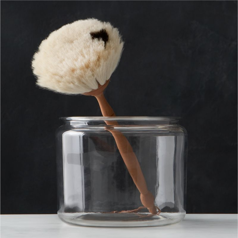 Redecker® Goat Hair Round Dust Brush