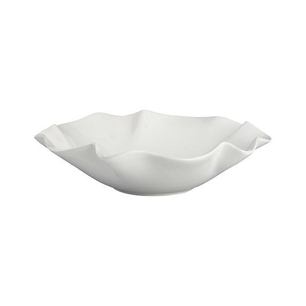 """Ruffle 15"""" Large Bowl"""