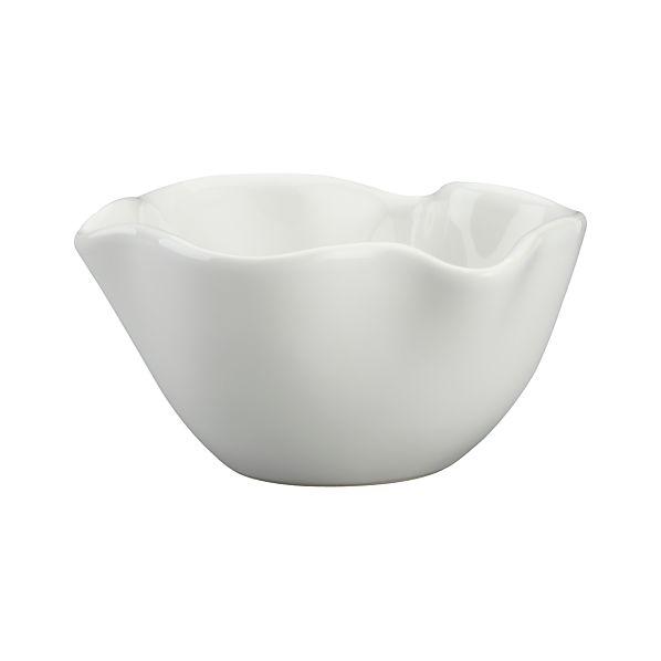 """Ruffle 5.5"""" Dip Bowl"""