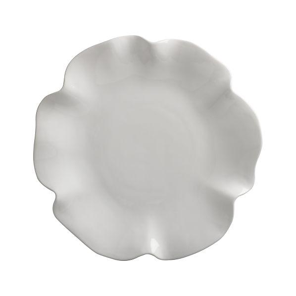 "Ruffle 16"" Platter"
