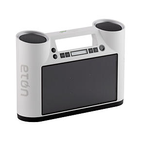 Rukus Solar Bluetooth Player