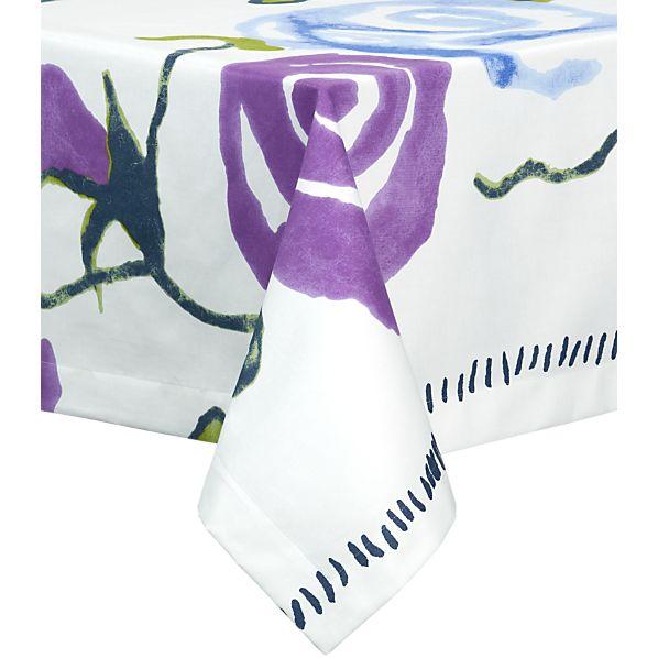 """Marimekko Ruusu 60""""x108"""" Tablecloth"""