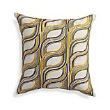 """Rylie 18"""" Pillow with Feather-Down Insert"""