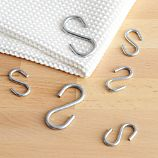 "Set of Six ""S"" Hooks"