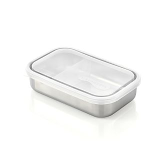 Rectangular Container with Divider