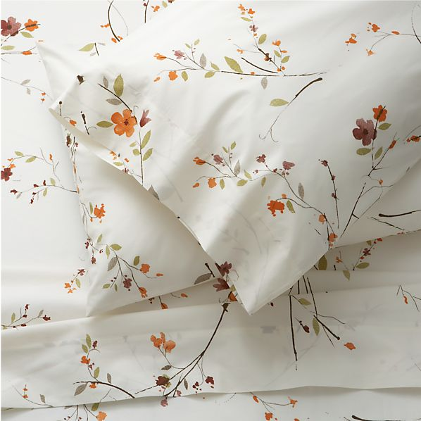 Sakura King Sheet Set