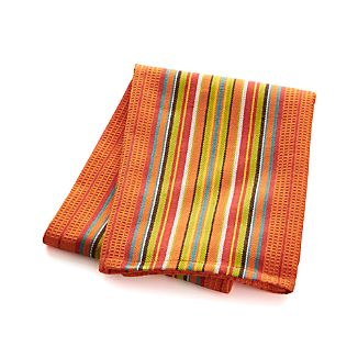 Salsa Dos Orange Dishtowel