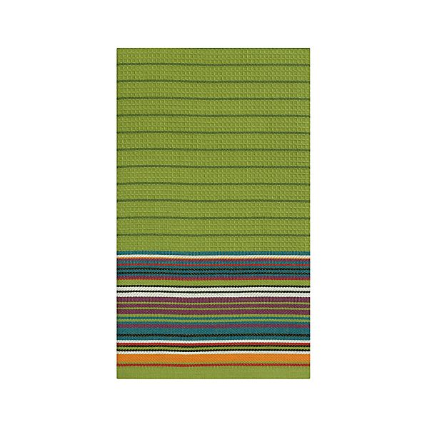 Salsa Stripe Green Dishtowel