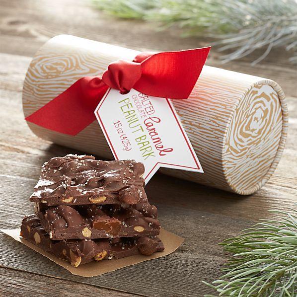 Salted Caramel Chocolate Peanut Bark