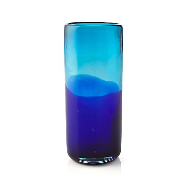 Salud Azul Tall Drink Glass