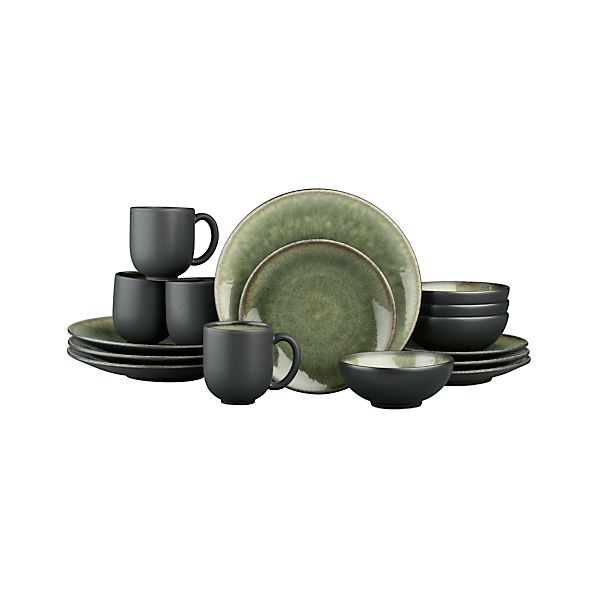 Samoa 16-Piece Dinnerware Set