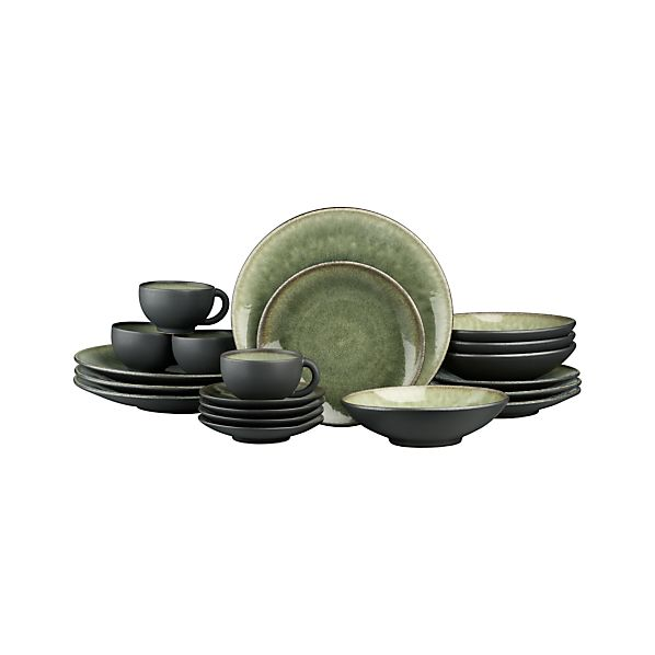 Samoa 20-Piece Dinnerware Set