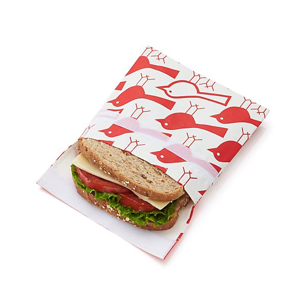 LunchSkins Birds Sandwich Bag