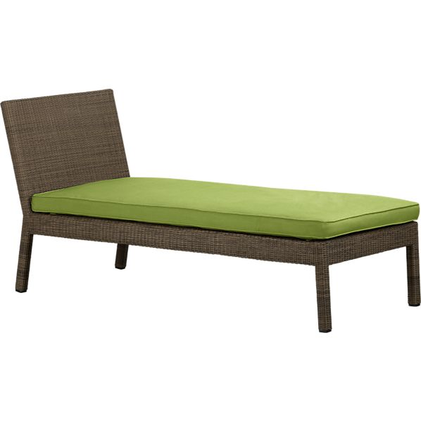 Sanibel Chaise Lounge with Sunbrella® Kiwi Seat Cushion
