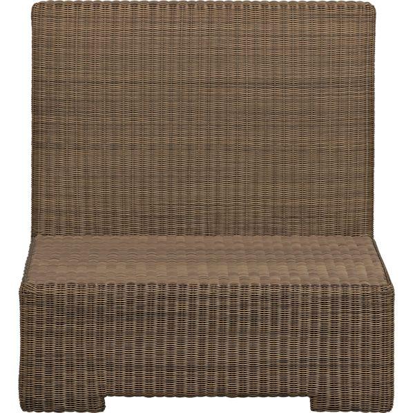 Sanibel Modular Armless Chair