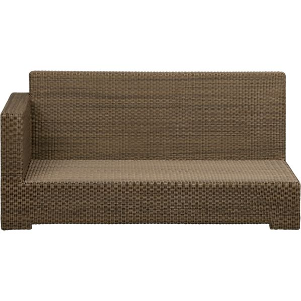Sanibel Modular Left Arm Loveseat
