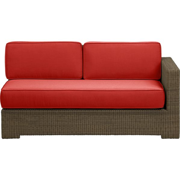 Sanibel Modular Right Arm Loveseat with Sunbrella® Caliente Cushions