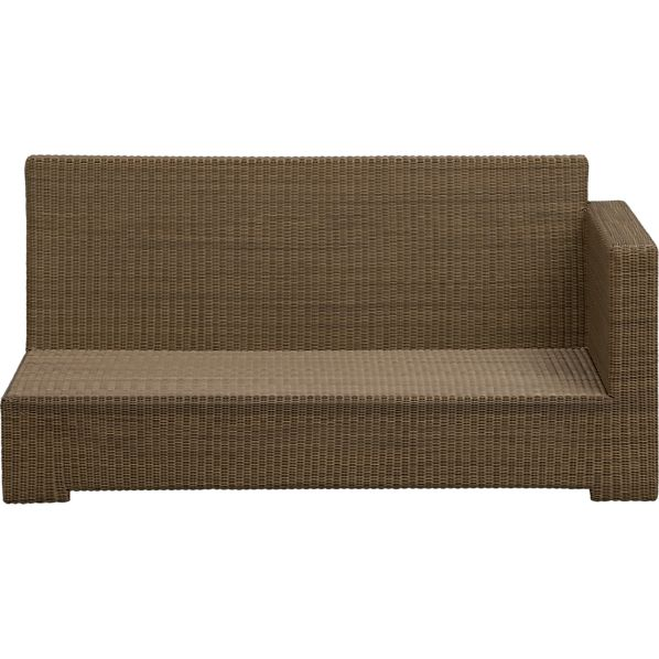 Sanibel Modular Right Arm Loveseat