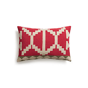 "Santo 24""x16"" Pillow with Down-Alternative Insert"