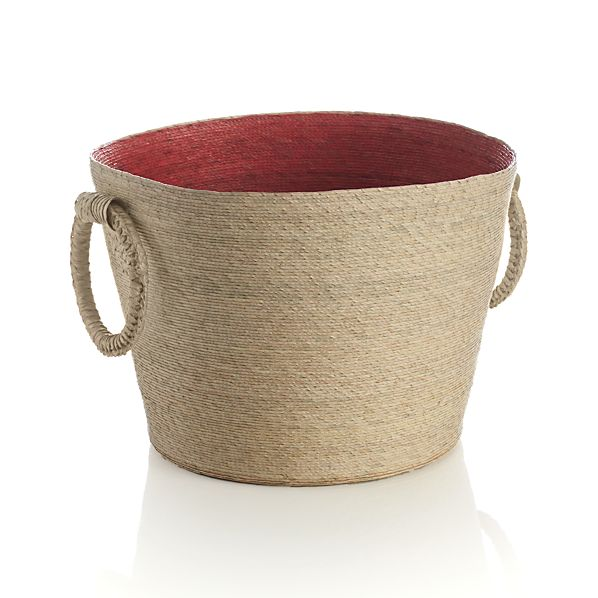 Sarinana Coral Basket with Rings