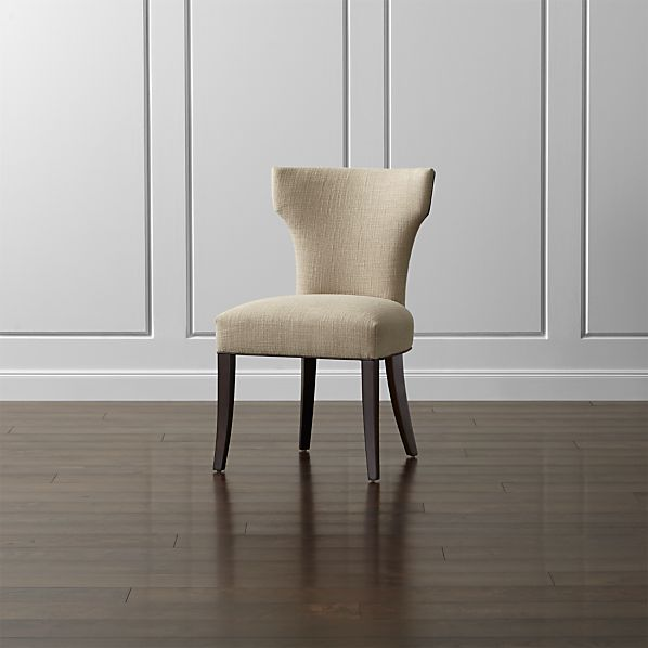Sasha Side Chair with Leather Welt