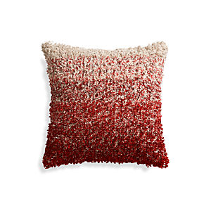 "Sassafras Red 20"" Pillow"