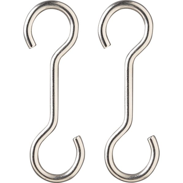 "J.K. Adams 4"" Extension Hooks Set of Two"